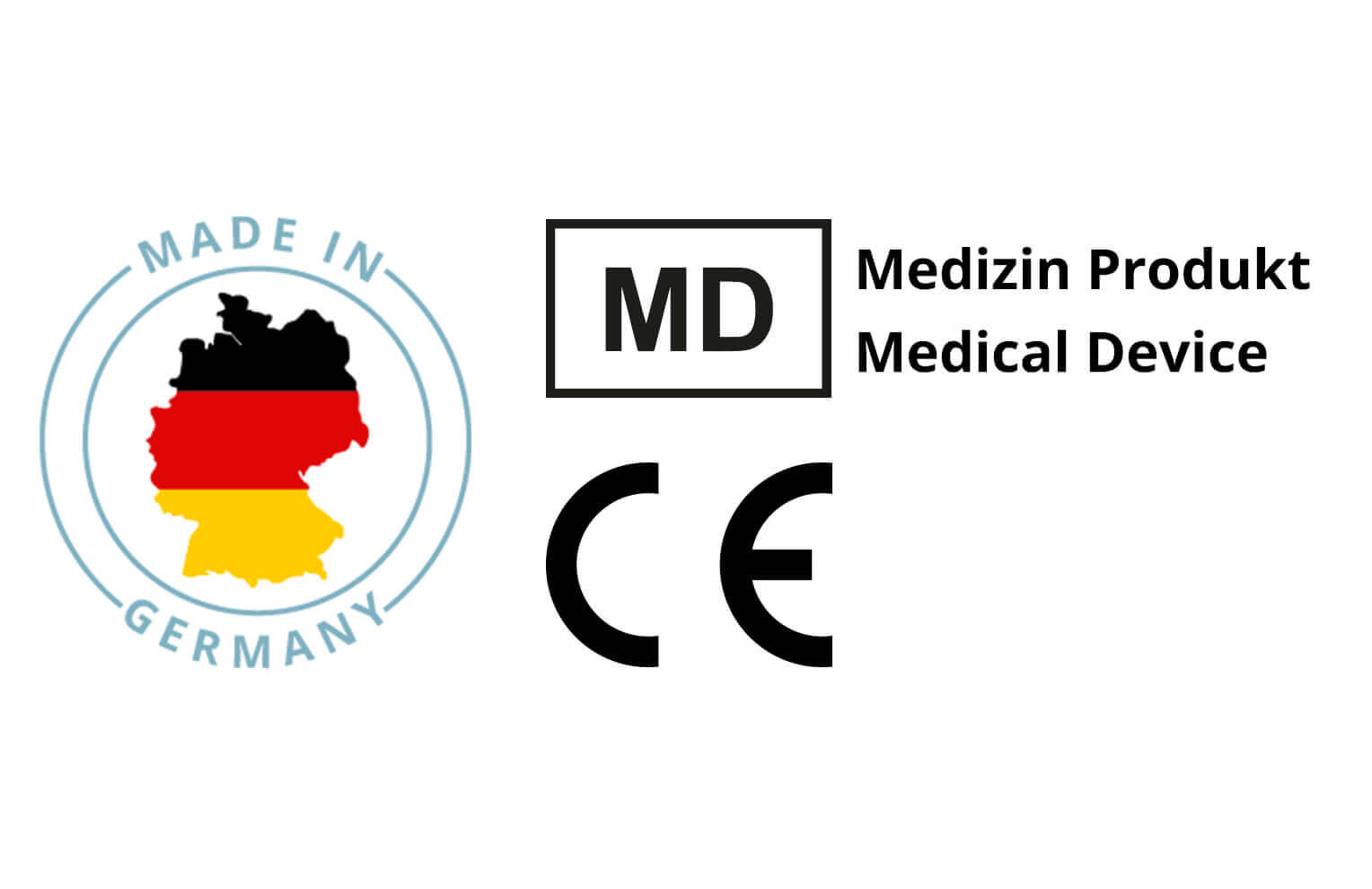 Made in Germany und CE-Konform
