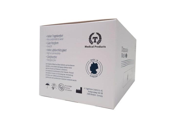 Medizinischer Mund-Nasen-Schutz Verpackung