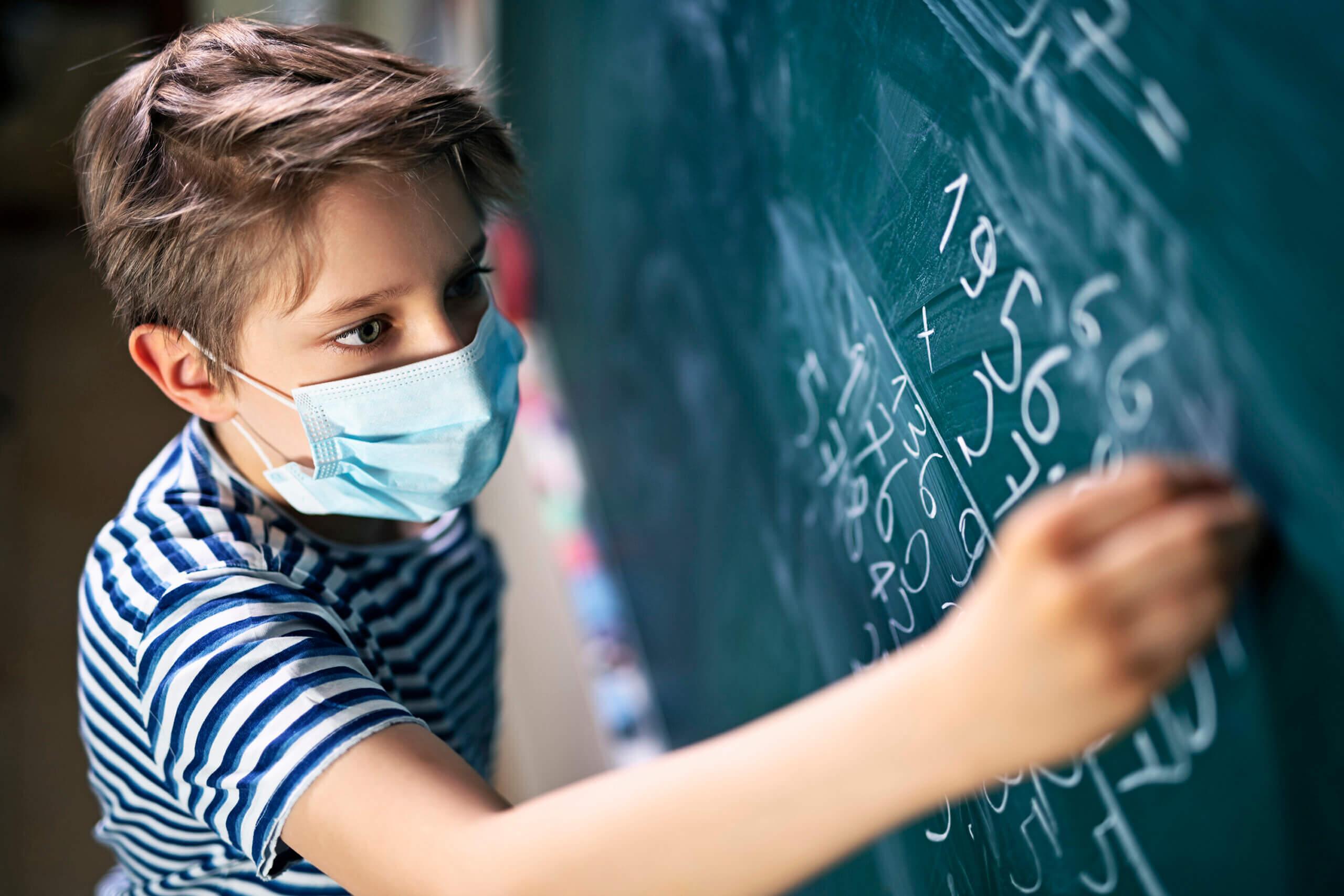 Kindermaske hergestellt in Deutschland